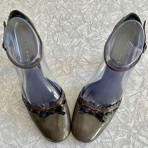 Hype Retro Patent Funky Heels 8